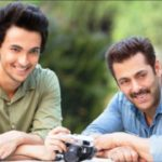 Aayush Sharma and Salman Khan