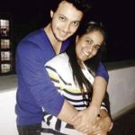 Aayush Sharma with his wife Arpita Sharma