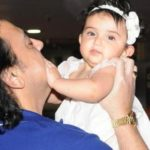 Adnan Sami with his daughter Medina