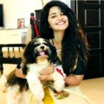 Anupama Parameswaran loves dogs