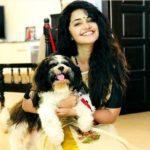 Anupama Parameswaran loves dogs
