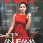Anupama Parameswaran on cover of Red magazine