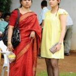 Archana Shastry With Her Mother