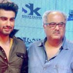 Arjun Kapoor With His Father Boney Kapoor