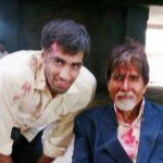 Avinash Tiwary with Amitabh Bachchan in TV series Yudh