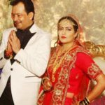 Bhayyuji Maharaj and Ayushi Sharma marriage photo