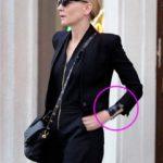 Cate Blanchett wrist tattoo