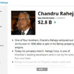 Chandru Raheja Forbes