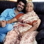 Cheran with his mother Kamala