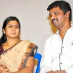 Cheran with his wife Selvarani