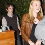 Dakota Fanning with Highmore