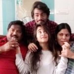 Deepthi Sunaina Family