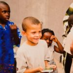 Dele Alli in his childhood in Nigeria