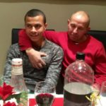 Dele Alli with his adoptive father Alan Hickford