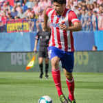 Diego Costa playing for Athletico Madrid