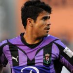 Diego Costa playing for Valladolid