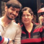 Gajendra Verma With His Sister