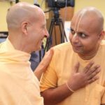 Gaur Gopal Das With His Guru Radhanath Swami