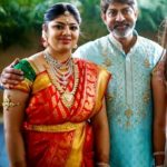 Jagapati Babu with his daughter Meghana Babu
