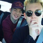 Julian Brandt with his brother Jannis Brandt