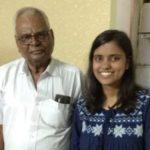 Kalpana Kumari With Her Father