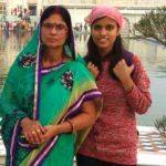 Kalpana Kumari With Her Mother