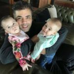 Karan Johar With His Twins