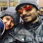 Kaushal Manda with his wife