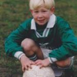 Kevin de Bruyne in his childhood