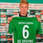Kevin de Bruyne playing for Werder Bremen