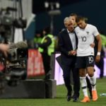 Kylian Mbappé With His Coach Didier Deschamps