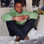 Kylian Mbappé childhood photo