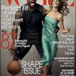 LeBron James on Vogue Magazine with Gisele Bundchen