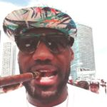 LeBron James smoking Cigar