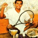 Leander Paes winning Wimbledon Junior