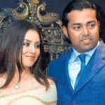 Leander Paes with Mahima Chaudhary