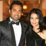 Leander Paes with his Girlfriend Rhea Pillai