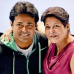 Leander Paes with his Mother