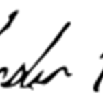 Leander Paes's Signature'
