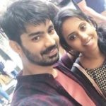 Mahat Raghavendra with his sister