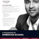 Manchu Vishnu runs New York Academy