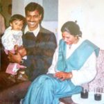 Meenakshi Chaudhary With Her Parents