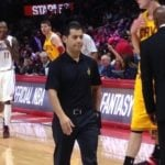 Mike Manceas,  LeBron James's trainer