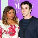Mindy Kaling with B.J. Novak