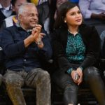 Mindy Kaling with her father