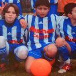 Nabil Fekir in his childhood