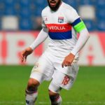 Nabil Fekir with his Captain's Armband for Olympique Lyon