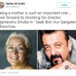 Nafisa Ali In Saheb Biwi Aur Gangster