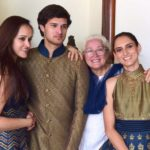 Nafisa Ali With Her Children