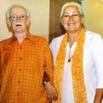 Nafisa Ali With Her Father